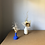 Thumbnail: Tiny Blue Vase