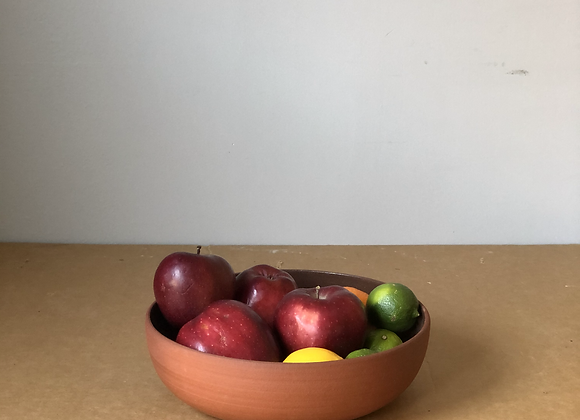 Large Red Clay Bowl