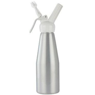 Sifón Mosa para Crema Batida 1 litro Aluminio