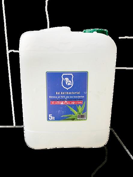 5LT galón de gel antibacterial