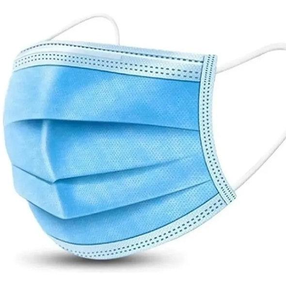 (100) Cubreboca termosellado tricapa