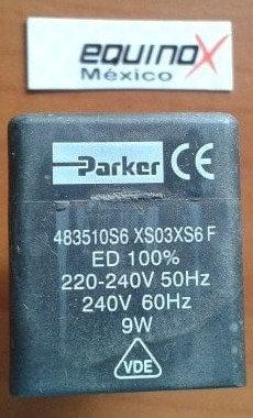 Bobina Lucifer/Parker 220/240 V 9 W 50hz P/N 43950