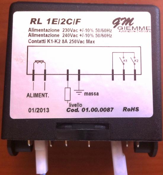 Regulador de nivel N/P 18080001 ASTORIA- WEGA