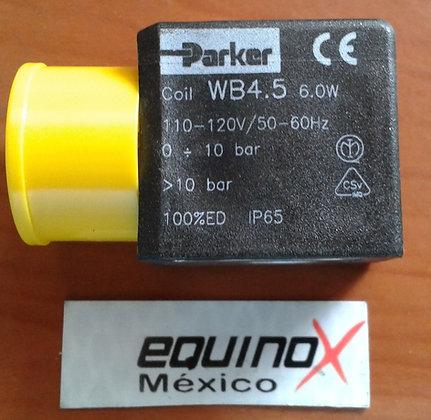 BOBINA PARKER WB4.5 6W 115V 50/60Hz BRAS