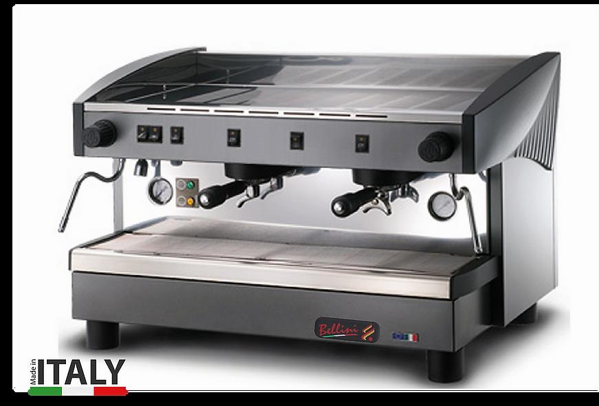 Máquina de café 2 grupos 2 salidas de vapor MS-100 BELLINI