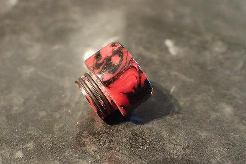 810 (O'Ring) Red/Black Driptip