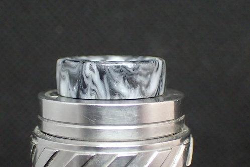 810 (O'Ring) White/Black Driptip