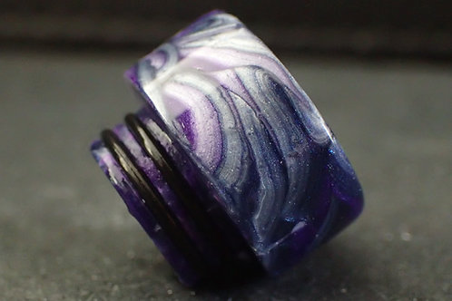 810 (O'Ring) Purple/Silver Driptip