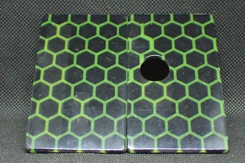 Billet Box V4 -Doors Green Honeycomb