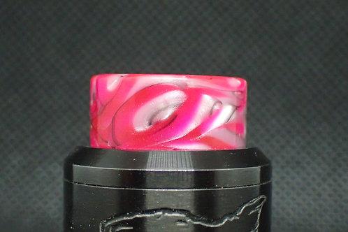 810 Pink/White/Black Driptip