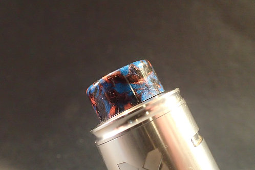 810 Black/Blue/Red Driptip