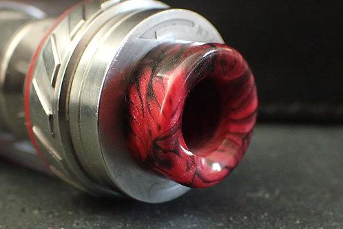 810 (O'Ring) Black/Red Driptip