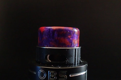 510 Purple/Red Drip Tip