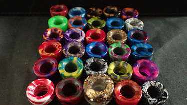 Custom bespoke handmade 810 510 810 oring drip tips UK