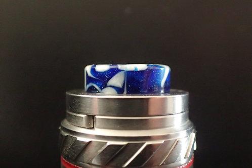 810 (O'Ring) Blue/White Driptip
