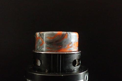 510 Orange/Gun Metal grey Drip Tip