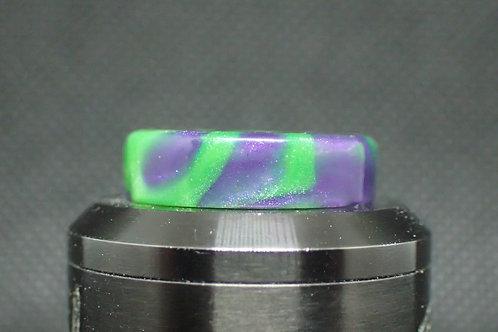 810 Purple/Green Driptip