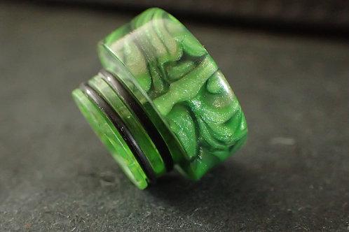 810 (O'Ring) Green/Black Driptip