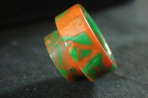 810 Green/Orange Driptip
