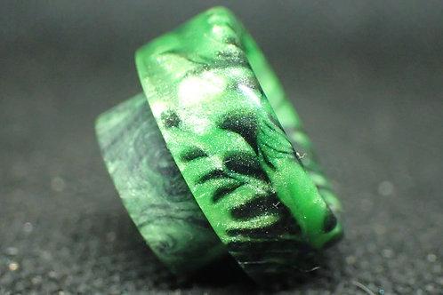 810 Black/Green Driptip