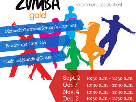 Zumba Offerings Expanded to Montecito Terraces Senior Apartments