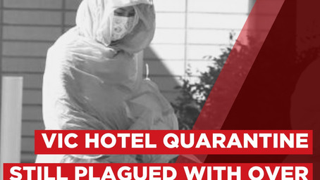 """12 breaches a day in Daniel Andrews """"strongest and safest quarantine program in the country"""""""