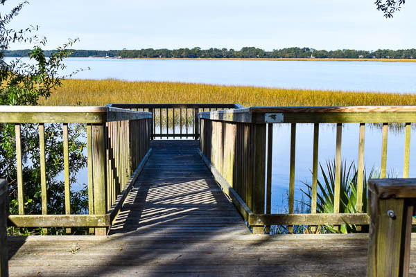 dock at the elopement park