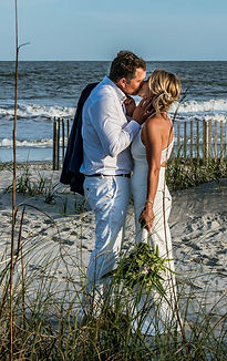 romantic beach elopement on Hilton Head Island SC