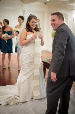 funny personal wedding vows