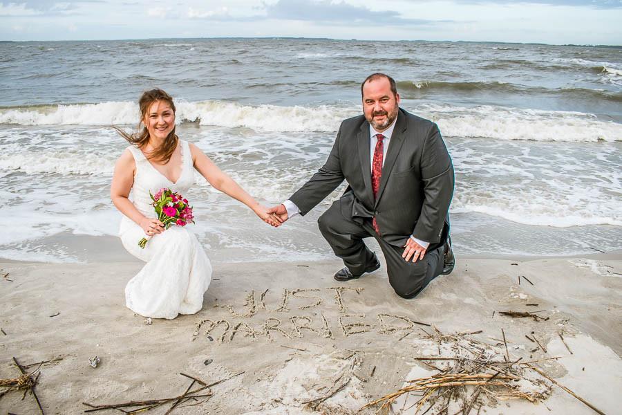 Just Married on Hilton Head Island
