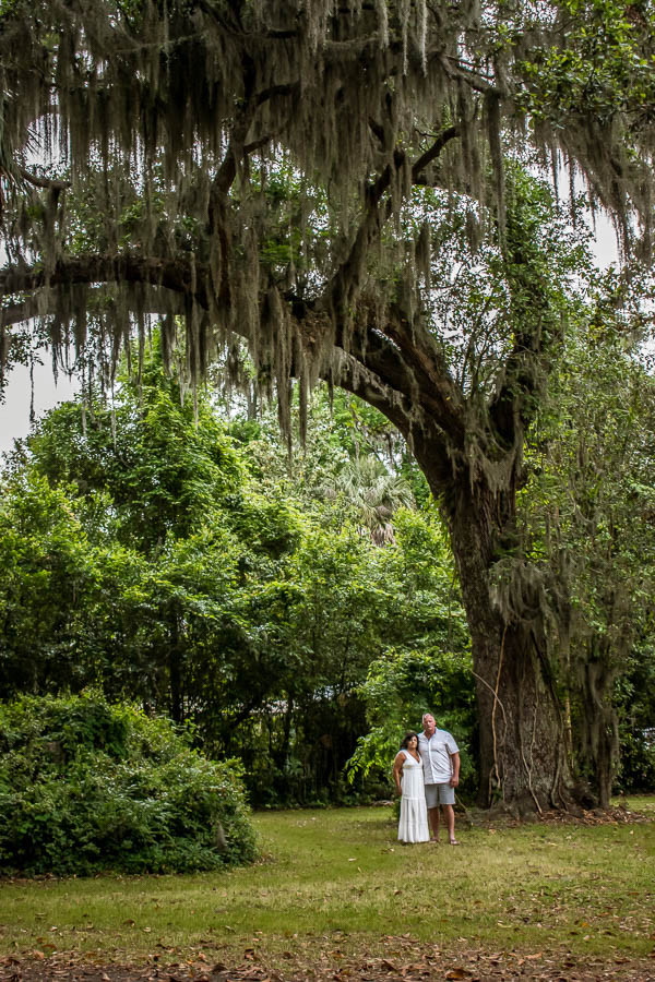 elopement Old Oyster Factory Park in Bluffton