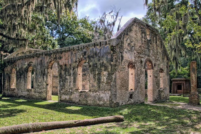 st helena chapel of ease in Beaufort county south carolina