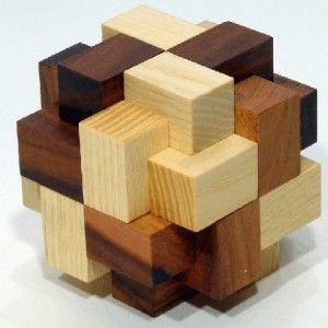 wooden puzzle cube wedding unity ceremony