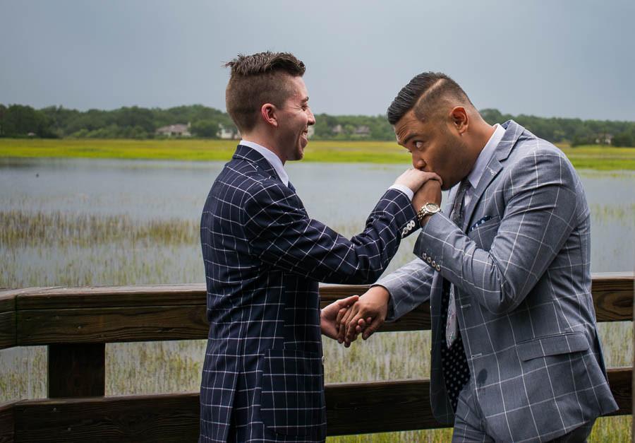Mitchelville Freedom Park Gay elopement
