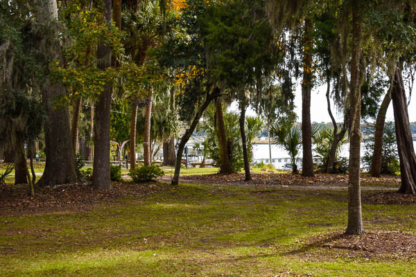 natural setting for your bluffton elopement