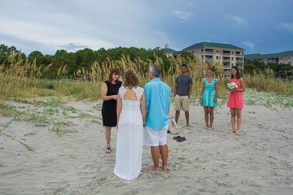 beach elopement package on hilton head island sc