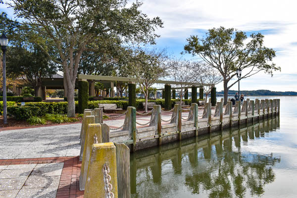enjoy the view at waterfront park