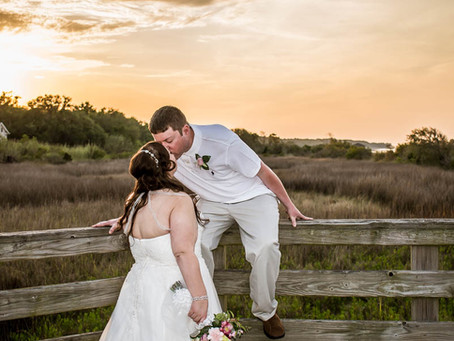Romantic Beach Elopement at Fish Haul Beach on Hilton Head Island!