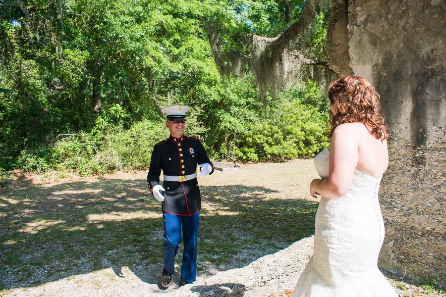 marine elopement in beaufort sc