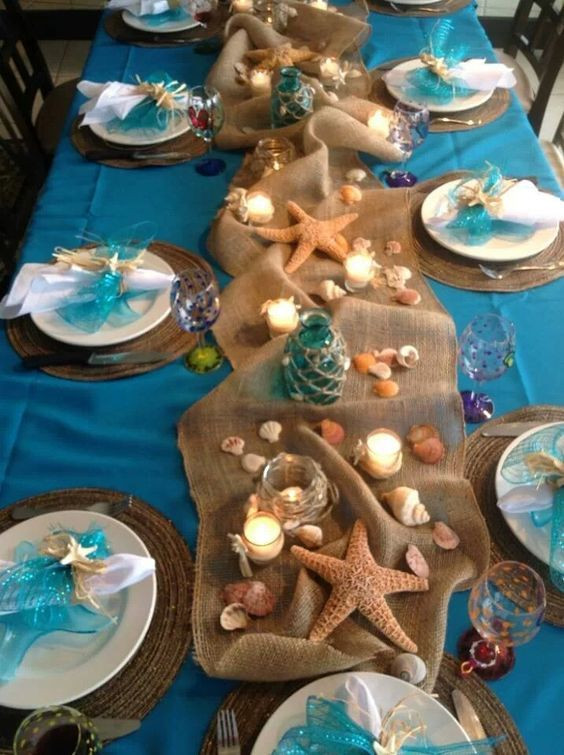 beach wedding theme decorations