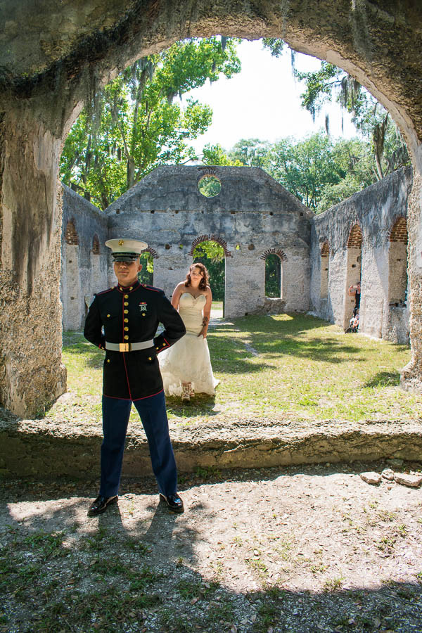 military elopement at chapel of ease