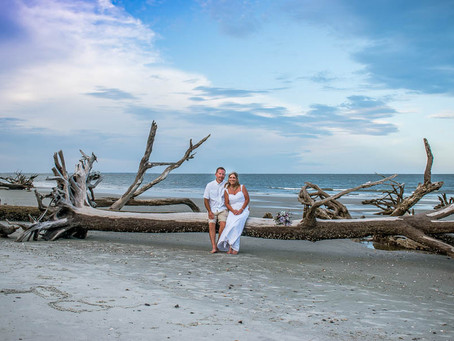 South Carolina's Natural Beach and Park:  Hunting Island