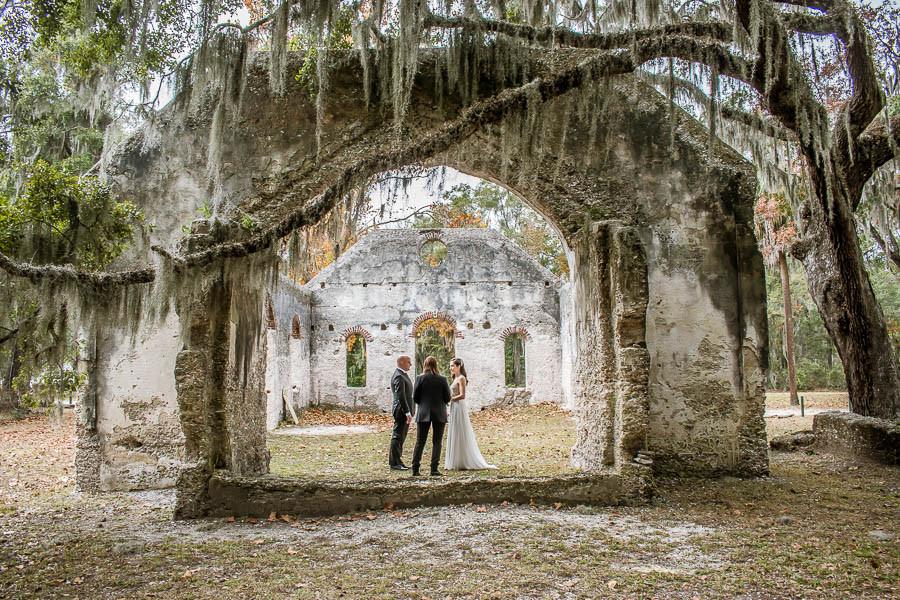 Chapel of Ease elopement ceremony
