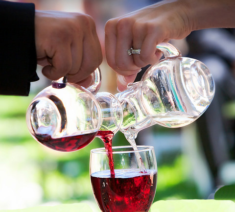 Wine as part of your wedding ceremony