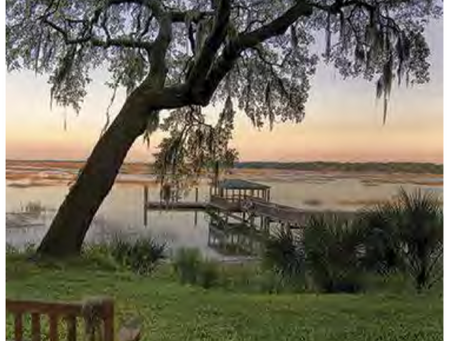 Unique Waterfront Park for Your Elopement in Bluffton SC