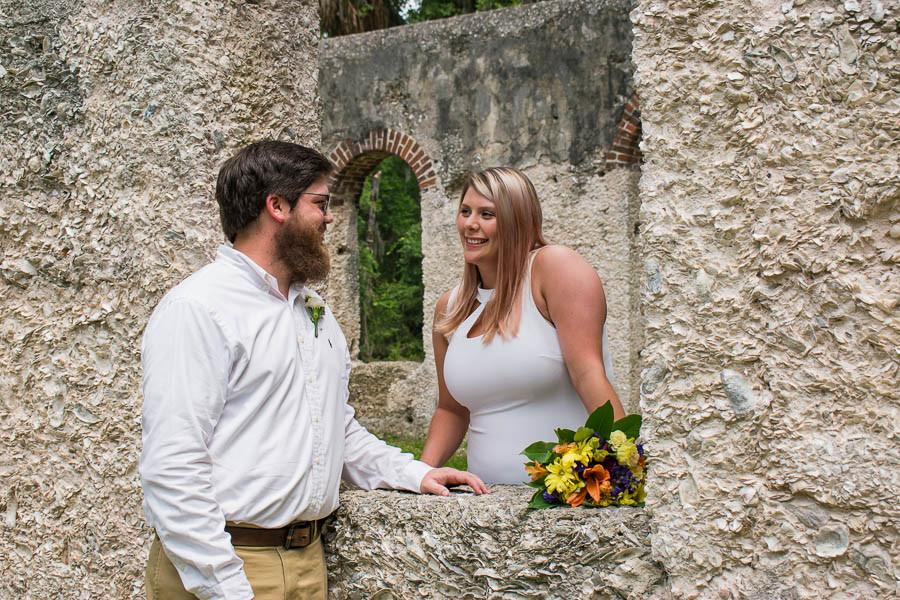 historic elopement in beaufort sc