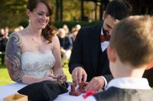 wedding unity puzzle ceremony