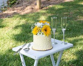 6 inch quad layer custom cake