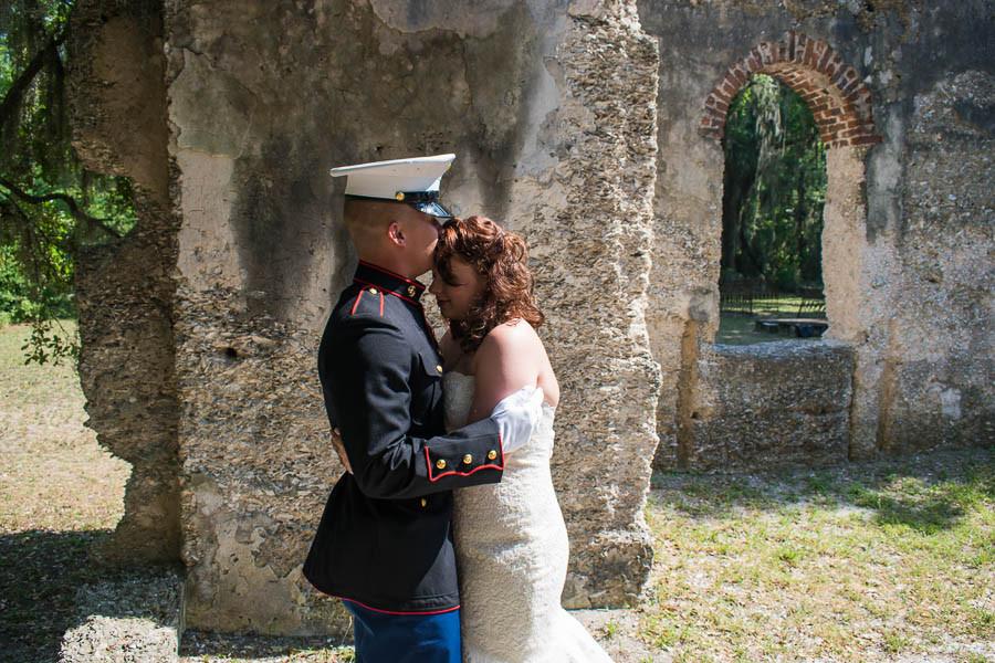 military elopement parris island sc