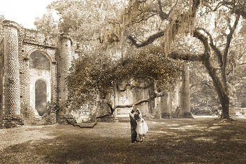 historic romantic elopement beaufort romanticsouthernelopement.jpg old sheldon church ruins elopement
